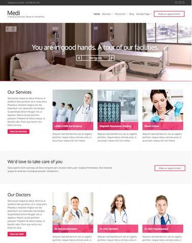 CSSigniter – Medi v1.0 WordPress Theme