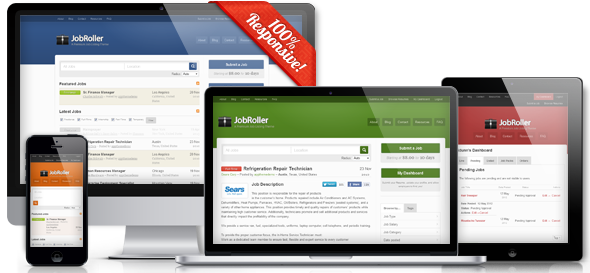 JobRoller v1.7.2 – Appthemes WordPress Theme