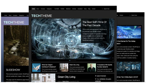 Organicthemes – Tech v2.0.5 WordPress Theme