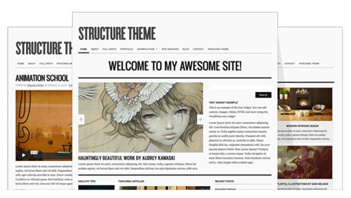 Structure v3.1.2 – Organicthemes WordPress Theme