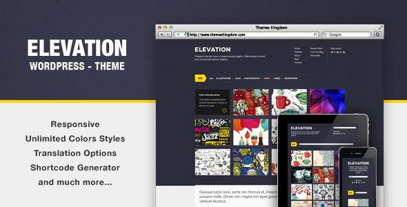 ThemesKingdom – Elevation v1.5 – Responsive WordPress Theme