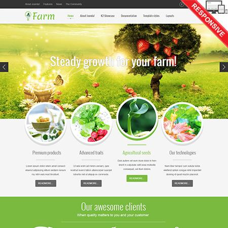 VT Farm template – for Joomla 2.5 & 3.1