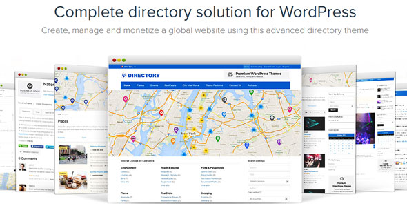 Directory — Templatic Directory Solution for WordPress
