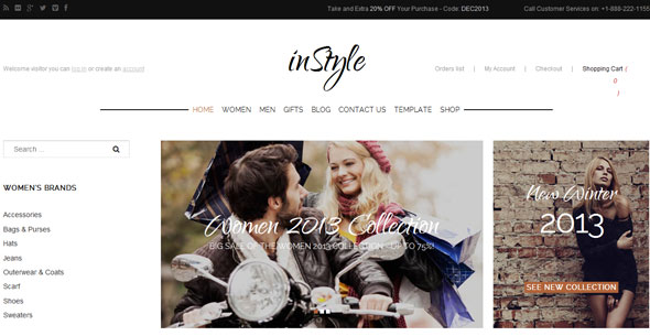 GK InStyle — GavickPro Joomla Template