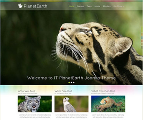 IceTheme – IT PlanetEarth for Joomla 2.5 & 3.2 – Retail