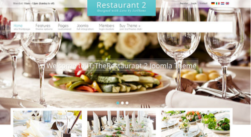 Icetheme – IT Therestaurant 2 Joomla Template