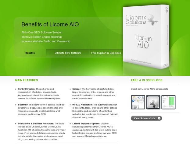 Licorne AIO v3.0.4