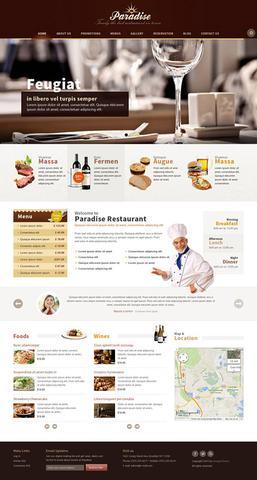 OmegaTheme – OT Paradise – Restaurant Responsive Joomla 2.5 Template