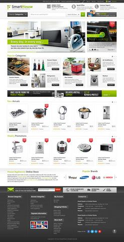 OmegaTheme – OT Smarthouse – Modern Style Furniture & Accessories Joomla 2.5 Responsive Template