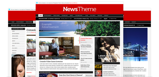 OrganicThemes – News v2.3.2 – WordPress Theme