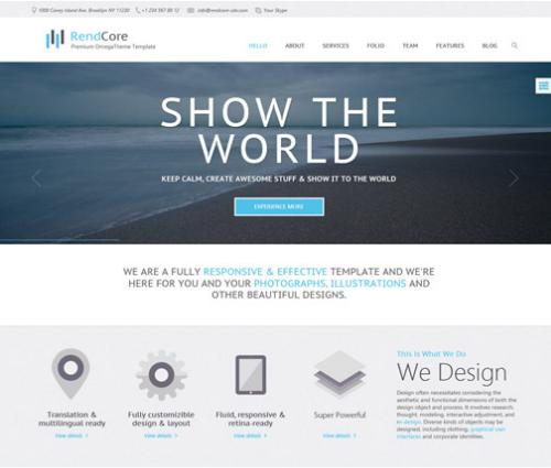 OT Rendcore – Premium Business & Portfolio Joomla 2.5 Template