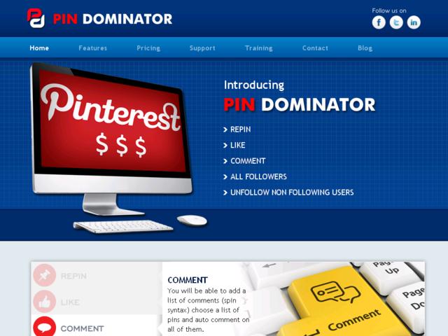 Pin Dominator