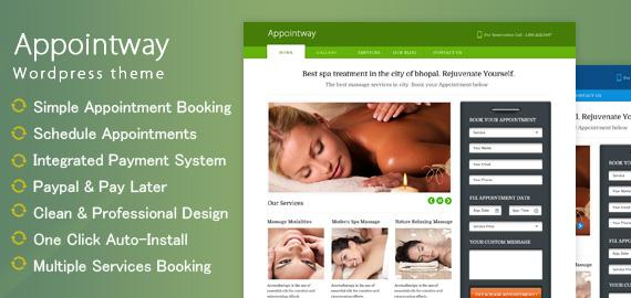 Inkthemes – Appointway v1.1.3 Appointment Booking WordPress Theme