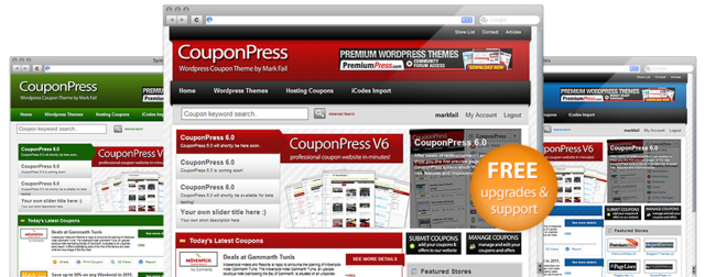 PremiumPress – CouponPress v7.1.4 WordPress Theme