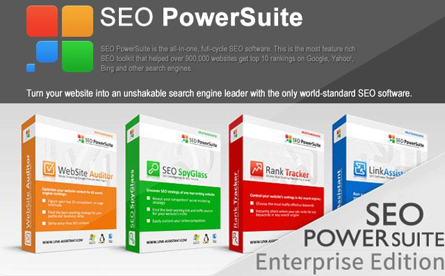 SEO POWERSUiTE 2013
