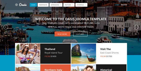 Shape5 – Oasis Joomla Template
