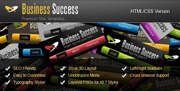 ThemeForest – 7 in 1 Business Success Site Theme – RIP