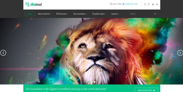 Vtem – VT Animal Joomla Template