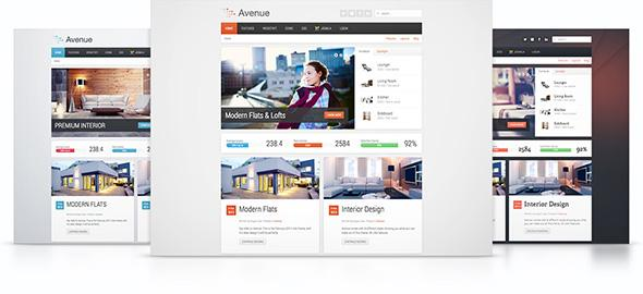 YT Avenue v1.0.0 – YooTheme for WordPress 3.x Template Warp 7