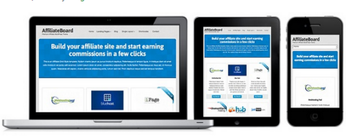 Colorlabs – AffiliateBoard 1.0.4 Build Affiliate Website Easily