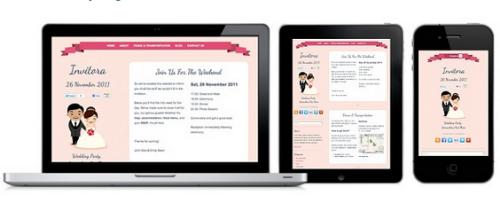 Colorlabs – Invitora 1.3.2 Wedding Invitation WordPress Theme
