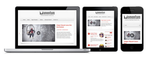 Colorlabs – Momentum 1.2.2 – Blog WordPress Theme