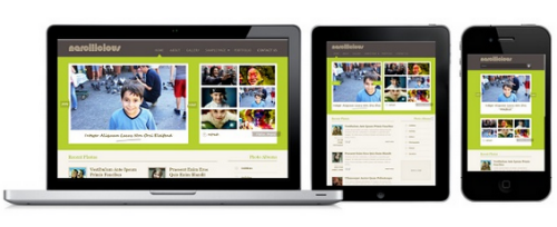 Colorlabs – Narcilicious 1.5.2 Photo Gallery WordPress Theme
