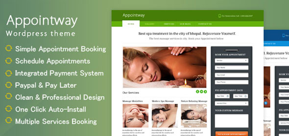 Appointway — InkThemes Appointment Booking WP Theme