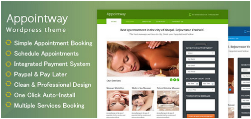 Appointway v1.1.4 Appointment Booking WordPress Theme