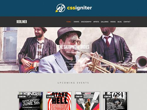 CSSigniter – Berliner v1.0.1 – Template For WordPress
