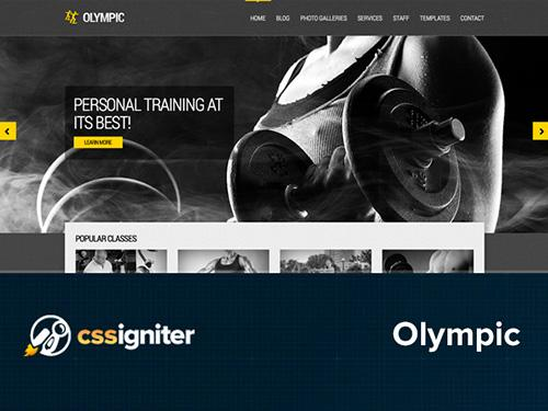 CSSigniter – Olympic v1.0.1 – Template For WordPress