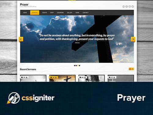 CSSigniter – Prayer v1.0 – Template For WordPress