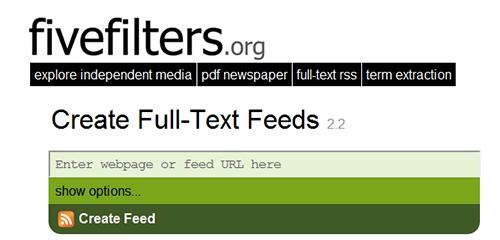 Full-Text RSS v3.2 – Must-have for autobloggers!