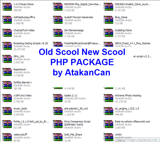 Oldscool Newscool Php scriptz 2014