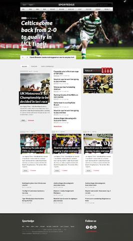 Sportedge v2.0.8 – Sport WordPress Theme