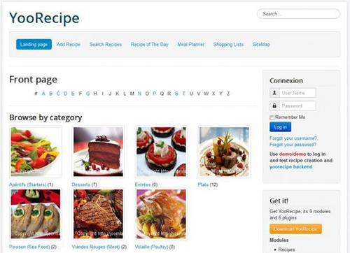 YooRecipe v3.4.5 – Joomla Recipe and Cookbook