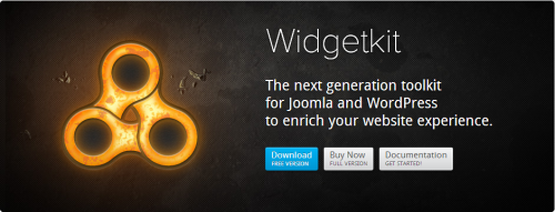 YOOtheme – Widgetkit v.1.4.8 Joomla 2.5 and 3.2 + BS
