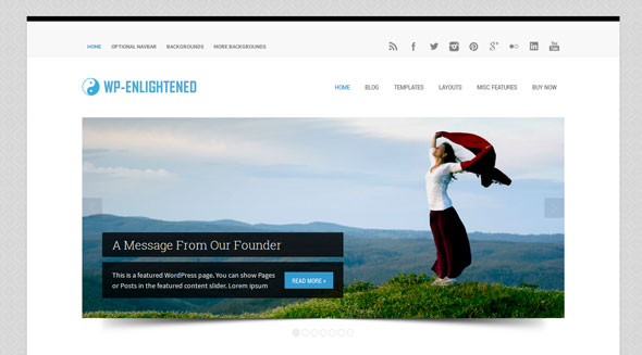 WP-Enlightened — Solostream Premium WordPress Theme
