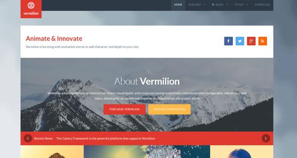 Vermilion — Rockettheme Joomla Template