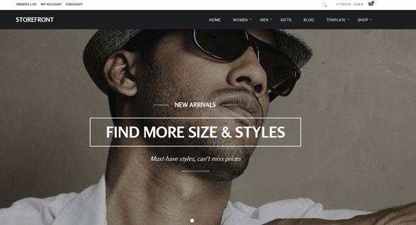 GK Storefront — Gavickpro Joomla Template