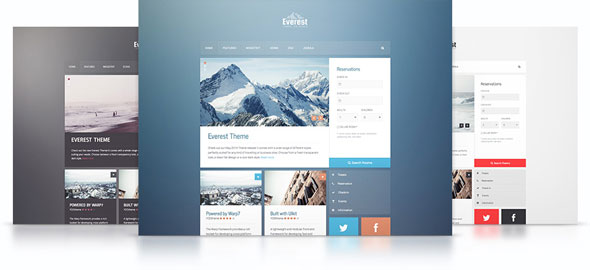 Everest v1.0.0 — Yootheme WordPress Theme