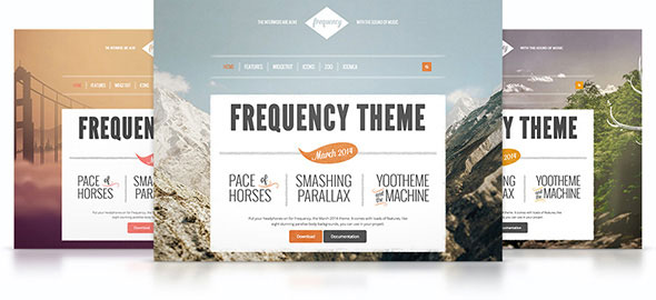 Frequency v1.0.1 — Yootheme WordPress Theme