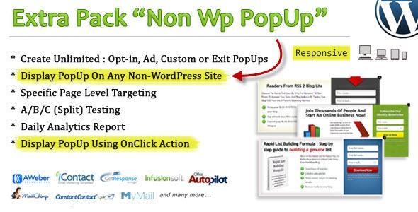 Addon – Non Wp PopUp v1.0