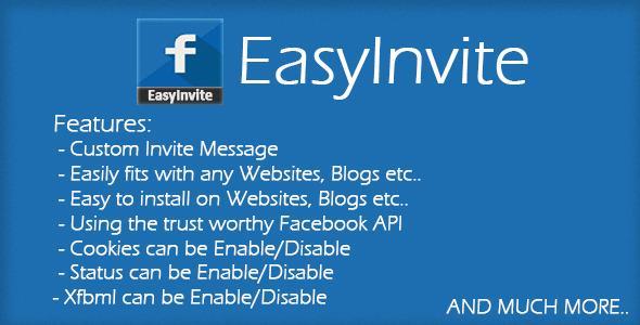 CodeCanyon – EasyInvite v1.0 – JavaScript