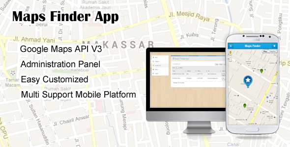 CodeCanyon – Maps Finder App