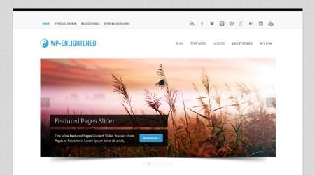 WP-Enlightened v1.0.4 – Premium WordPress Theme