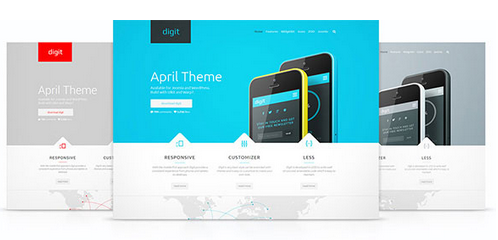 Yootheme – Digit v1.0.1 WordPress Theme