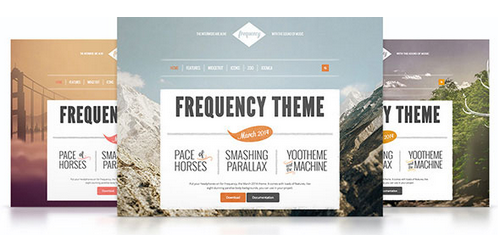 Yootheme – Frequency v1.0.1 WordPress Theme