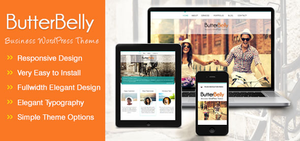 ButterBelly v1.0.3 — Inkthemes WordPress Theme