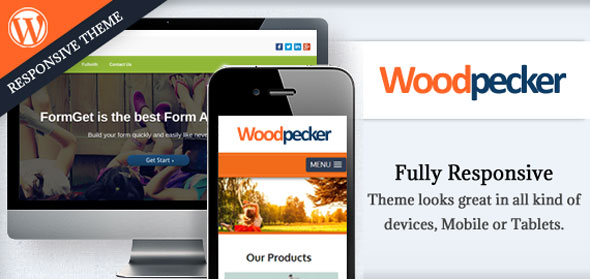 Woodpecker v1.0.5 — Inkthemes WordPress Template